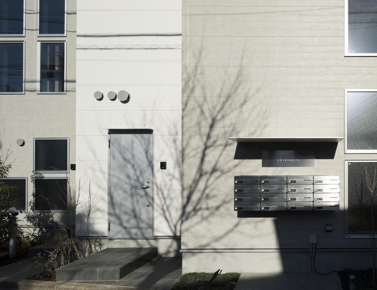 葛飾区柴又4丁目の15戸の立体長屋集合住宅 イメージ