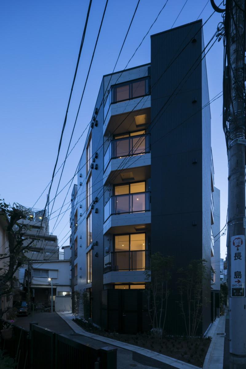 文京区水道という名の地に建つコンパクトマンション イメージ