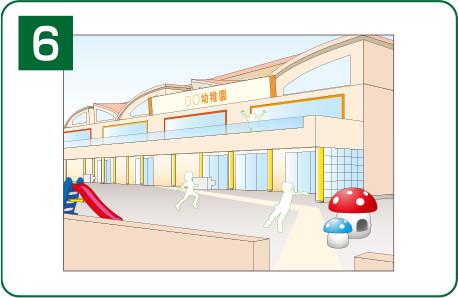 図:幼稚園例